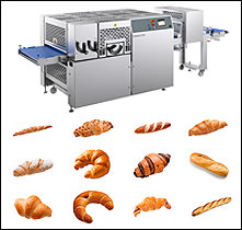CROMASTER - THE COMPACT CROISSANT MACHINE WITH HIGH-PERFORMANCE - RONDO ASIA REGIONAL OFFICE